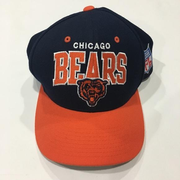 54e432b06 ... buy chicago bears mitchell ness snapback hat b3bfa 78e0d